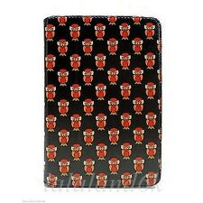 FOSSIL KEYPER BLACK MULTI OWL iPAD 2 3 4 TABLET CASE COVER SLEEVE POUCH STAND