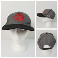 Toronto Raptors NBA Basketball Adjustable Snapback Ball Hat Cap Gray Red Logo