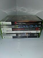 Lot Of 6 Xbox 360 Games Gears of war, Halo 3, dead space, destiny, crysis 3 CIB