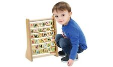 Wooden Spell and Count Abacus Early-Development Center for Kids