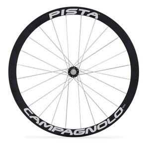 Campagnolo Bicycle Cycle Bike Pista Tubular Fixed Rear Track Wheel Black