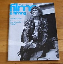 Films & Filming 1974 Magazine Paul Nicholas The WHO TOMMY Fritz Blazing Saddles