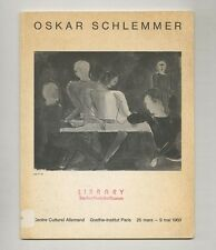 1969 Karin von Maur OSKAR SCHLEMMER 1888–1943 Bauhaus Painting Exhibit Catalog