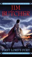 Codex Alera #6: First Lord's Fury by Jim Butcher (2010, Mass Market Paperback)