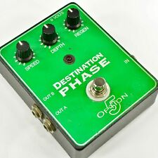 Option 5 Destination Phase Phaser Guitar Effect Pedal 6656