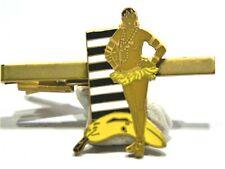 JOSEPHINE BAKER pince à cravates métal musique cabaret ceinture banane neuf