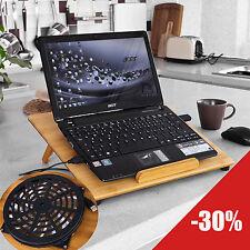 Adjustable USB Notebook Laptop PC Cooling Pad Cooler Fans Table, Mat,FBT27-N, UK