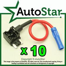 10- Add A Circuit Fuse Tap Piggy-Back MICRO Fuse Holder APS ATT mini LOW PROFIL