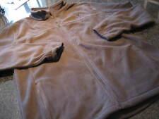 NWT - Mens BROWNING Gray FLEECE Front Zip Jacket (MED)