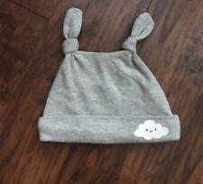 Gymboree Baby Boy Grey Cloud Beanie Hat Size 3-6 Months Nwt