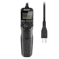 RM-VPR1 Timer Remote Shutter for Sony Alpha A7r A7 A7II A6000 A3000 NEX-3NL