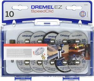 Dremel SpeedClic Schneid-Set SC-Aufspanndorn Trennscheiben Aufbewahrungsbox