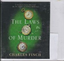 THE LAWS OF MURDER by CHARLES FINCH ~UNABRIDGED CD AUDIOBOOK