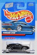 HOT WHEELS 1998 FERRARI 348 BLACK W+
