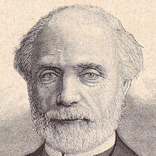 Portrait XIXe Charles Louis de Saulces de Freycinet Foix Ariège
