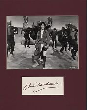 Julie Andrews. Authentic autograph. Mary Poppins signature tribute.