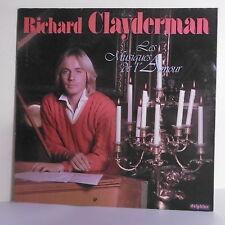 """33T Richard CLAYDERMAN Disque LP 12"""" LES MUSIQUES DE L'AMOUR - DELPHINE 700045"""
