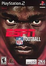 ESPN NFL Football (ps2), Acceptable PlayStation2, Playstation 2 Video Games