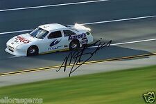 "American STOCK CAR DRIVER Mike Skinner HAND SIGNED PHOTO 12x8"" AB"