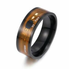 Smart Rings,NFC High Tech Smart Rings Technology Gadgets IC Stainless steel