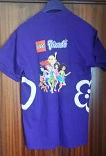 Official LEGO Store PROMO LAUNCH T Shirt MEDIUM FRIENDS PURPLE BNWOT 100% COTTON