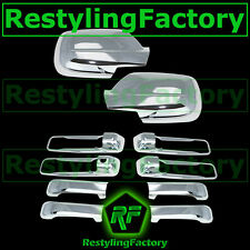 Triple Chrome plated  Mirror+4 Door Handle Cover for 05-10 JEEP GRAND CHEROKEE