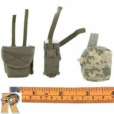 ACU Female Shooter - Pouches Set of 3 - 1/6 Scale - Very Cool Action Figures