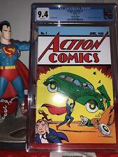 Cgc 9.4 Action Comics #1 (Loot Crate Edition) 2017 Reprint 1st Superman 💪�