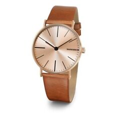 Rare Lambretta Cesare 42 Rose Gold Watch Brown Leather Strap 2186ROS Unisex #JLY