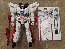 Transformers Generations Leader Class Autobot JETFIRE 100% COMPLETE