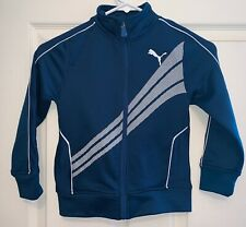 Puma Track Jacket LIttle Boys Size 4 Nice condition