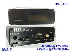 HV-310E FPV FullHD Video Transmitter, HDMI/ CVBS to DVB-T modulator