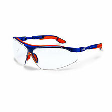 Uvex I-VO Gafas Protectoras Marco Naranja-Azul PARA LABORATORIO de trabajo