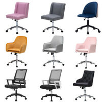 Swivel Velvet Office Chair Executive Home Computer Desk Seat Task Mesh Chairs