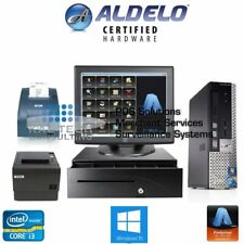 Aldelo Pro Coffee Shop Restaurant Bakery Complete Value Pos System i3/4Gb