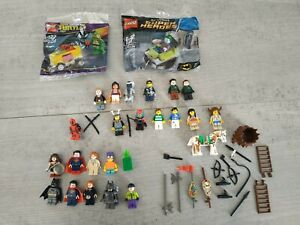 Rari Lotto Lego Omini  MiniFigure  Deadpool Batman Heroes joker Superman
