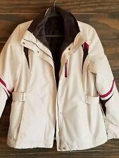 4 in 1 Zeroxposur Winter Coat.  White, Gray and Magenta.  Women's M.