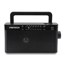 RADIO ANALOGICA PORTATIL PRITECH PBP-090 Tres Bandas AM/FM/SM batería recargable