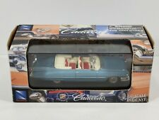 New Ray 1959 Cadillac Series 62 Convertible Blue 1:43 Scale Diecast