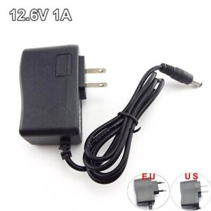 AC/DC 12.6V 1A Power Supply Adapter 18650 Lithium Battery Charger 5.5*2.5MM Plug