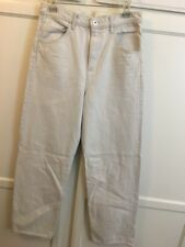 Helmut Lang Jeans Crop Full OFF WHITE Size 27 STRAIGHT LEG JEANS