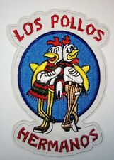 Breaking Bad TV Serie - Los Pollos Hermanos Logo Uniform Patch Aufnäher - neu
