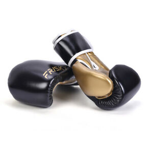 1 Pair Kick Boxing Gloves PU for Men and Women Punching Bag MMA Home Workout