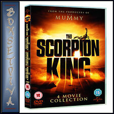 THE SCORPION KING - 4 MOVIE COLLECTION  **BRAND NEW DVD BOXSET ***