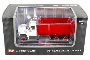 NEW 2020 1:64 DCP *WHITE & RED* Chevrolet C65 Tandem-Axle GRAIN TRUCK  *NIB*