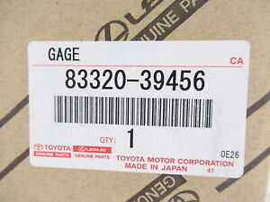 Genuine OEM Toyota 83320-39456 Fuel Sending Gage Unit