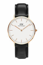 Daniel Wellington Unisex Classic Sheffield 36mm Rose Watch 0508DW