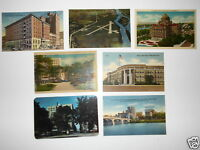 LOT OF 7 WILKES-BARRE PA PENNSYLVANIA  VINTAGE POSTCARDS