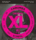 D'Addario ECB81SL Chromes Bass Guitar Strings, Light, 45-100, Super Long Scale for sale