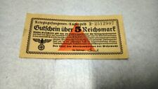 Germany 5 Lager reichsmark mark banknote rare RRR Prisoners of war POW
